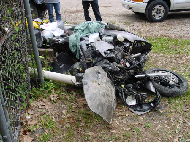 ST1300 after crash