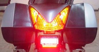 Motorcycle Headlights and Tail Lights