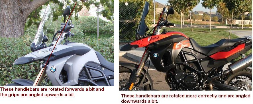 Handlebar alignment