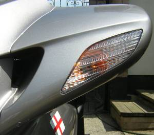 Clear Turn Signal Lenses
